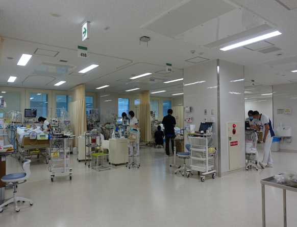 ICU室風景