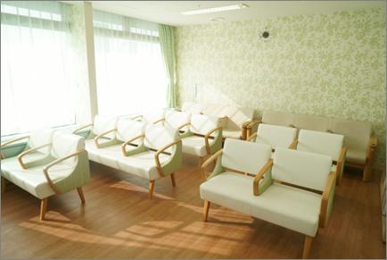 化学療法室内写真